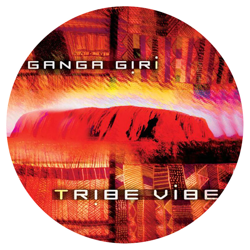 Ganga Giri Tribe Vibe on white