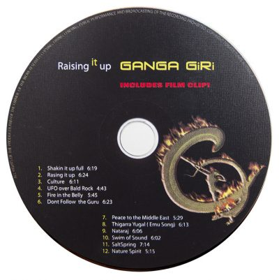 Ganga Giri Raising it Up CD