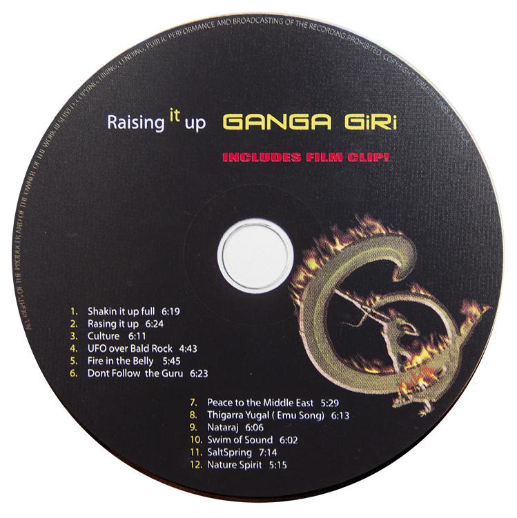 Ganga Giri Raising it Up CD