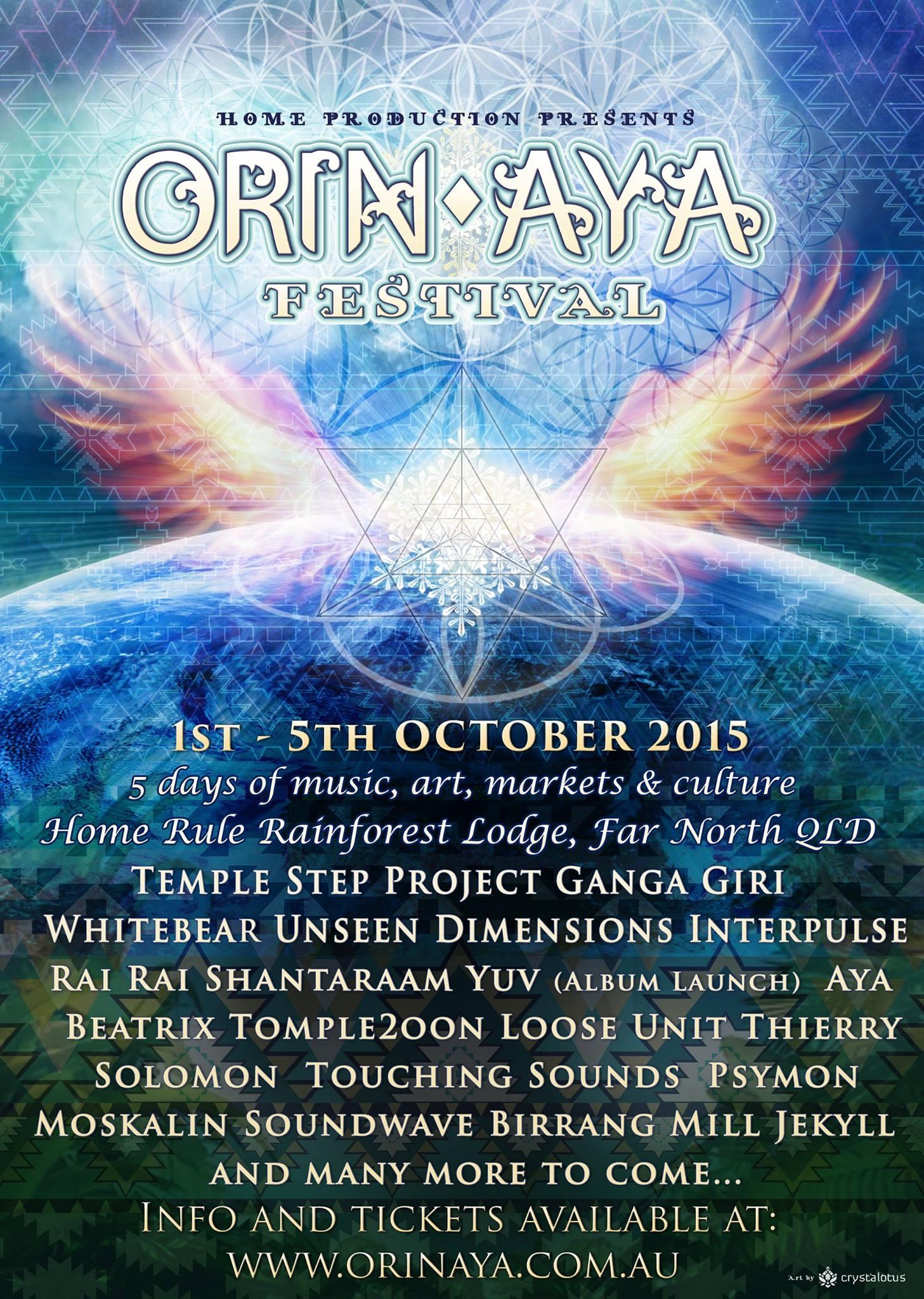 Orin Aya Festival 2015