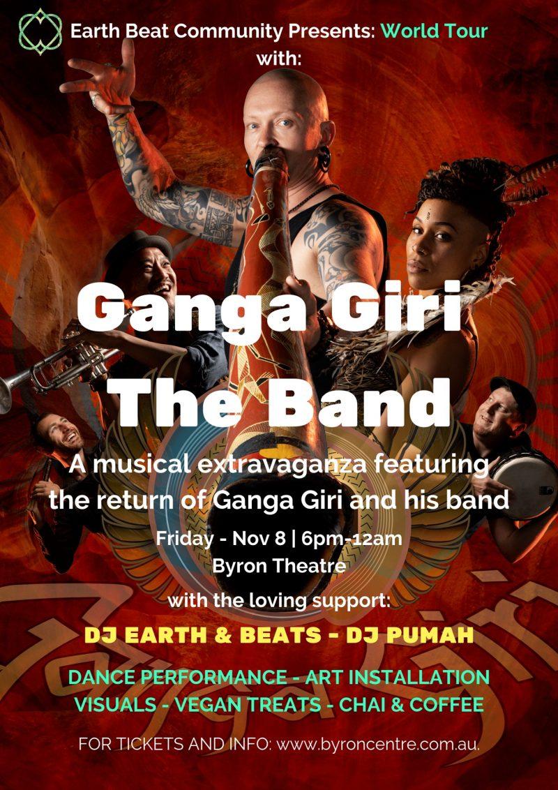 World Tour with GANGA GIRI BAND presented by Earth Beat Community